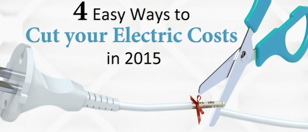 4 Easy Ways to Cut your Electric Costs in 2015