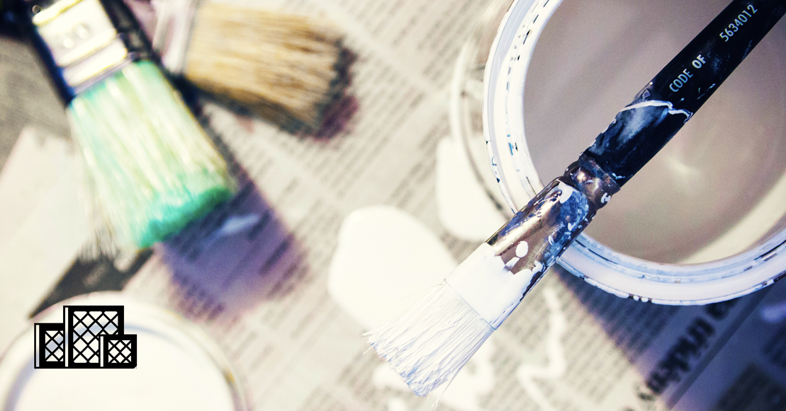 Household products like paint have harmful chemicals that can hurt your health