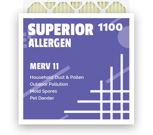 Merv 11 air filters shipped