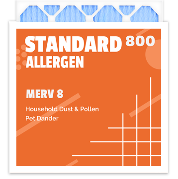 Standard Allergen 800 Merv 8 Air Filter