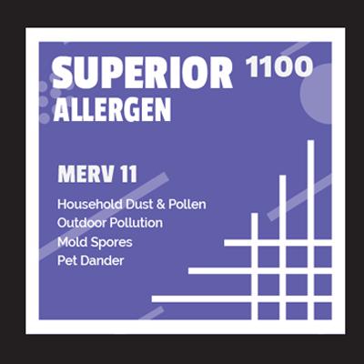Superior Allergen 1100